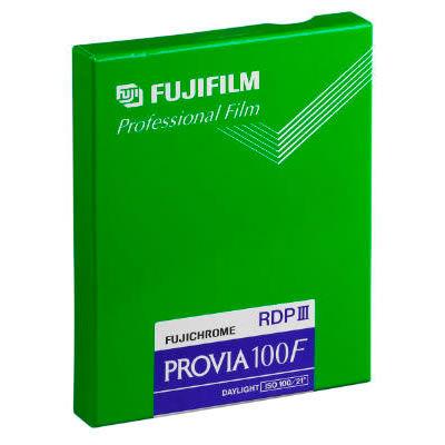 "Provia 100F 4x5"" (20 Sheets) Fujichrome Provia"