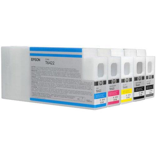 SP7700 / 9700 Colour Ink Set 5 Carts 150ml