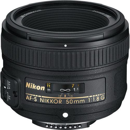 AF-S NIKKOR 50mm f/1.8 G Lens