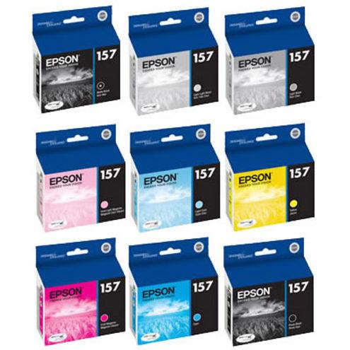 Stylus R3000 Color Ink Set 9 Cartridges w/Matte & Photo Black