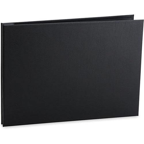 Varenna  11x17 Landscape Screwpost Binder / Black