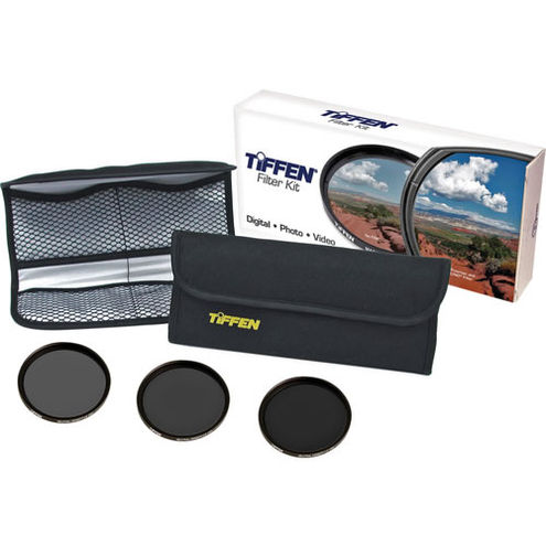 77mm Neutral Density 3 Filter Kit  Contains: ND 0.6, ND 0.9, ND 1.2 Filters and Pouch
