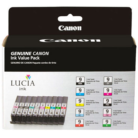 PIXMA Pro9500 Mark II Ink Set 10 Cartridges