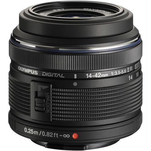 M.Zuiko 14-42mm f/3.5-5.6 II R Black Lens