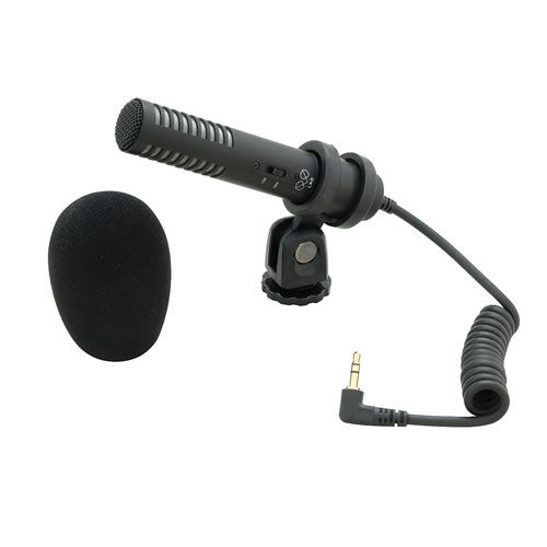 PRO 24-CM Stereo Condensor Mic For Camcorders