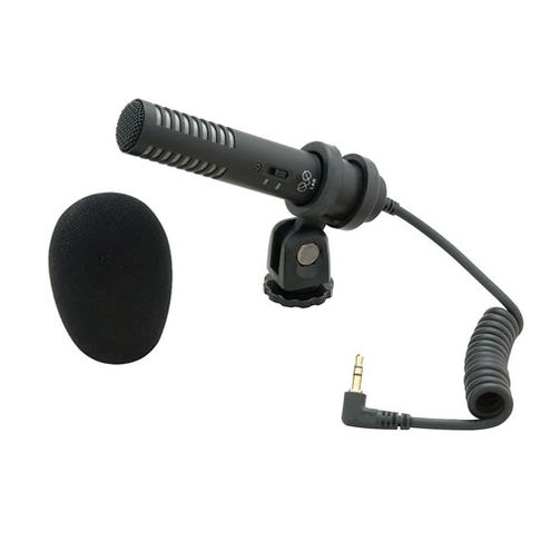 PRO 24-CM Stereo Condenser Mic For Camcorders