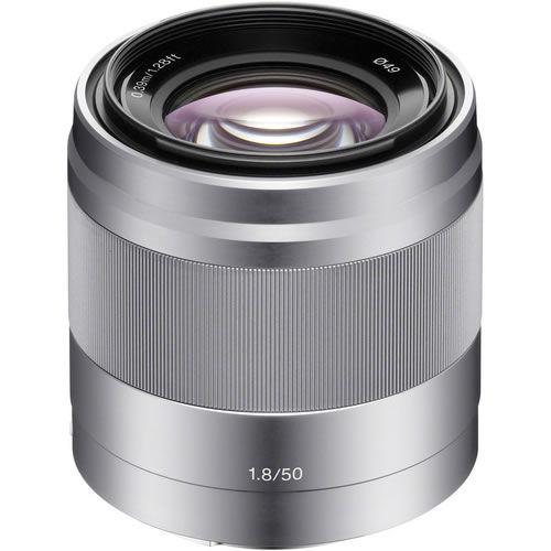 SEL50mm f/1.8 OSS Silver Lens
