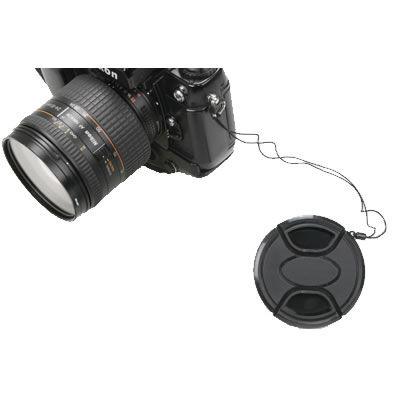 46mm Snap on Lens Cap w/Keeper