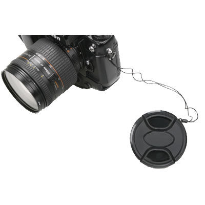 82mm Snap on Lens Cap w/Keeper
