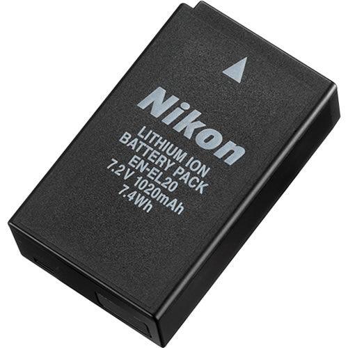 EN-EL20 Rechargeable Battery for Nikon 1 J1/J2 & AW1