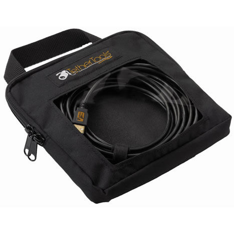 "Tether Pro Cable Organization Case - STD (8""x8""x2"")"