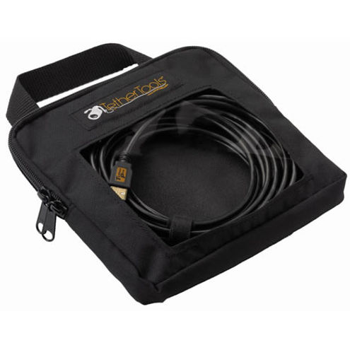 """Tether Pro Cable Organization Case - STD (8""""x8""""x2"""")"""