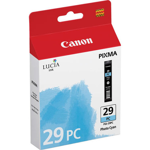 PGI-29 Photo Cyan Ink Tank for Pro-1