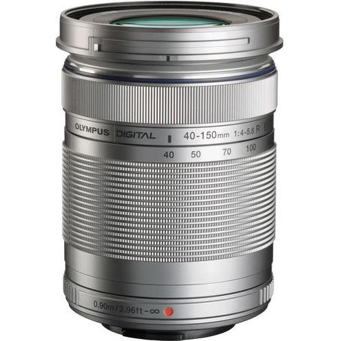 M.Zuiko 40-150mm f/4.0-5.6 R Silver Lens
