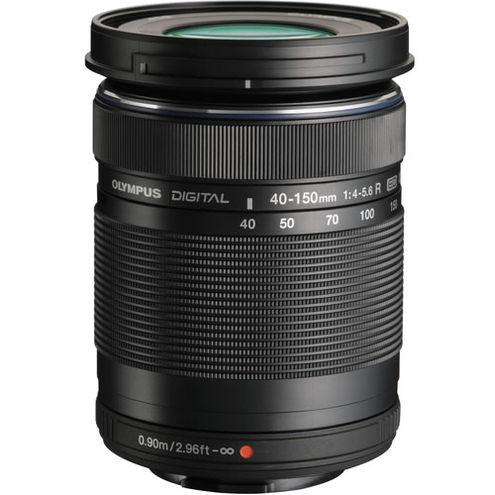 M.Zuiko 40-150mm f/4.0-5.6 R Black Lens