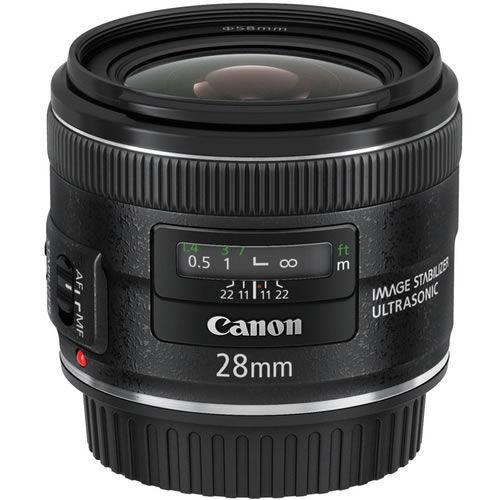 EF 28mm f/2.8 IS USM Wide Angle Lens