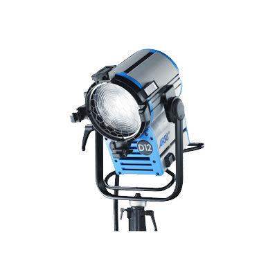 """D12 1200W HMI Fresnel Lamphead with 7"""" Lens (L1.33730.A)"""