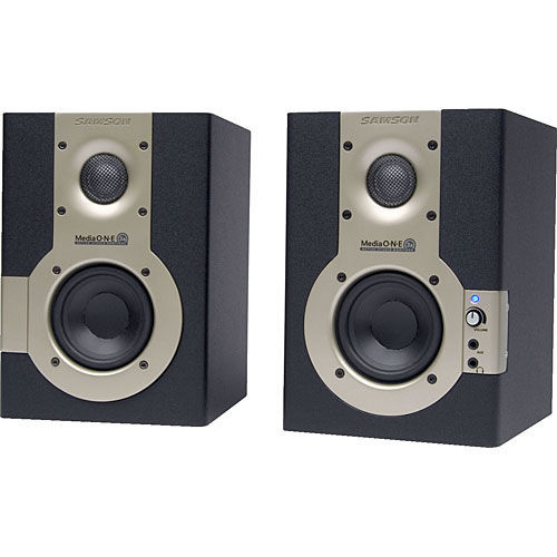 "2x15W 3"" Active Monitor (Pair)"