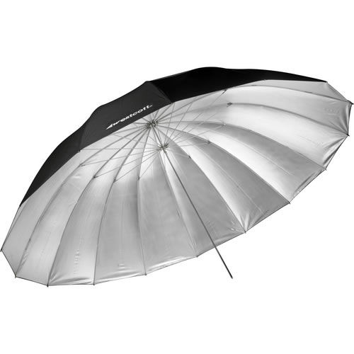 7' Silver Parabolic Umbrella