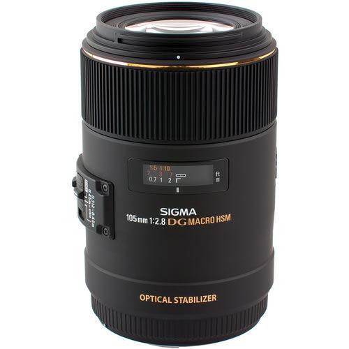 AF 105mm f/2.8 EX DG OS HSM Macro Lens for Nikon