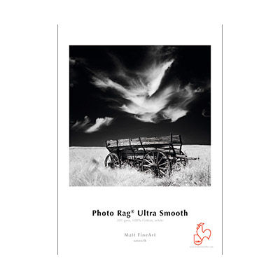 "13""x19"" Photo Rag Ultra Smooth 305gsm 25 Sheets"