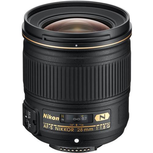 AF-S 28mm f/1.8 G Wide Angle Lens