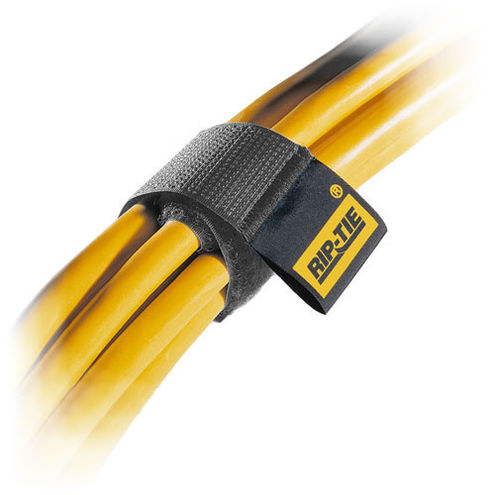 "1""x 9"" Rip-Tie Cable Wrap Black - 3pk"