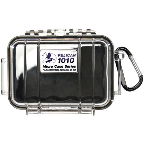 1010 Micro Case Black/Clear