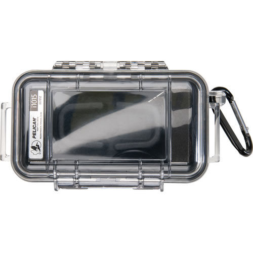 1015 Micro Case Black/Clear