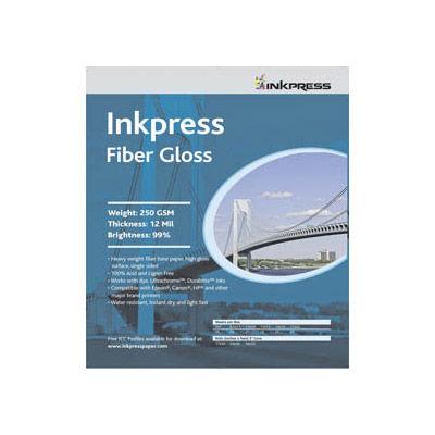 """8.5"""" x 11"""" Fiber Gloss 250gsm 5 Sheets"""