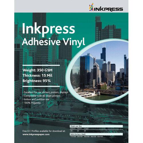 "24"" x 60' Adhesive Vinyl 13mil Roll"