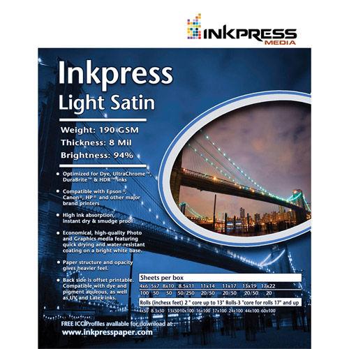 11'' x 17'' Light Satin 190gsm 8mil 100 Sheets