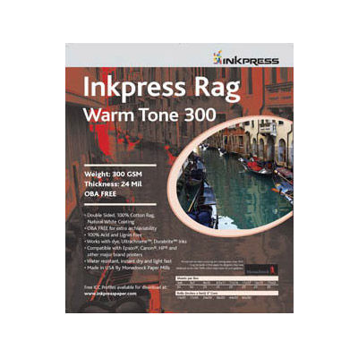 17'' x 25'' Warm Tone Rag DUO 300gsm 24mil 20 Sheets