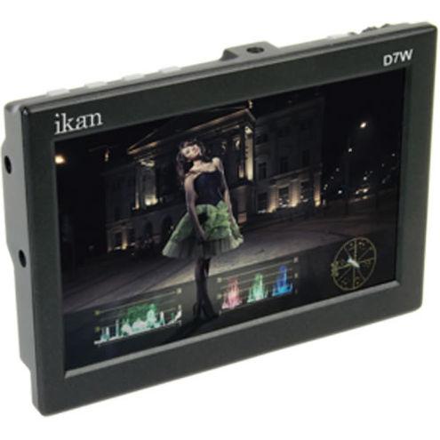 "7"" HD-SDI LCD Monitor w/ IPS Waveform Panel & Sony BP5N Battery Plate"