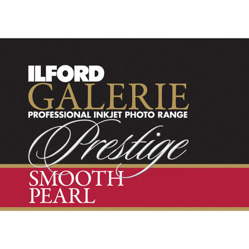 """13"""" x 19"""" Galerie Prestige Smooth Pearl 25 Sheets"""