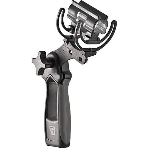 Softie Lyre Mount w/ Pistol Grip - Fits 19-25mm Mics