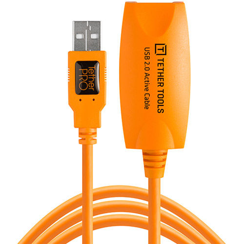 TetherPro USB 2.0 Active Extension 16' Orange