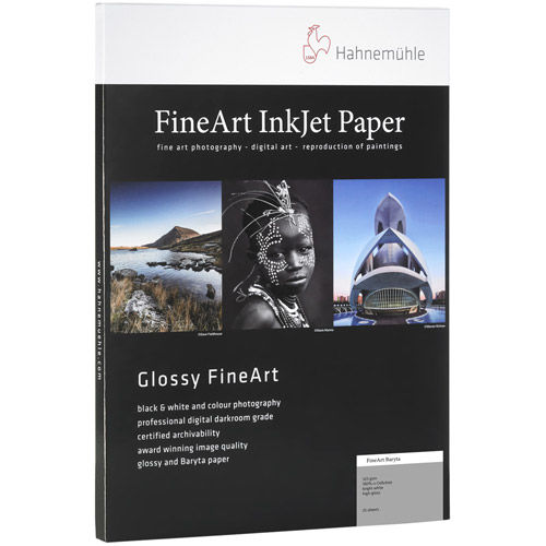 "13""x19"" FineArt Baryta High Gloss 325 gsm - 25 Sheets"