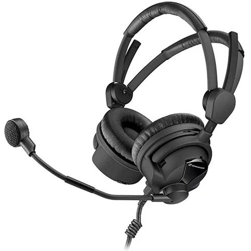 HMD26-II-600-X3K1 Pro Broadcast Headset, W/Cable and XLR