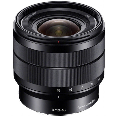 SEL 10-18mm f/4.0 OSS E-Mount Lens