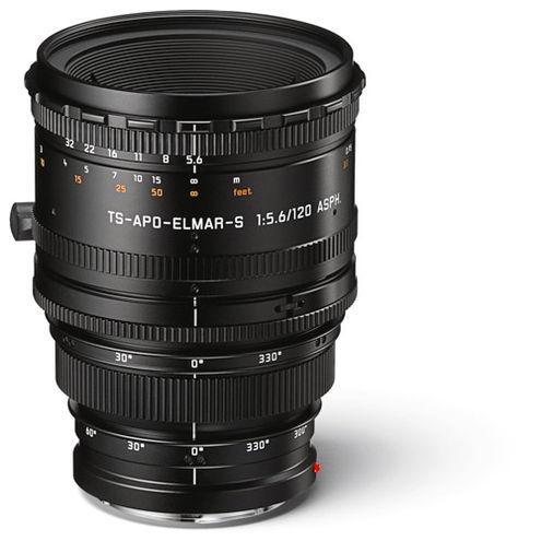 120mm f/5.6 TS-APO-Elmar-S ASPH Lens Black