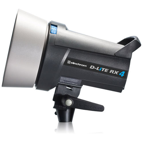 D-Lite RX 4 400Ws Bi-Voltage Fan Cooled Self Contained Flash Head
