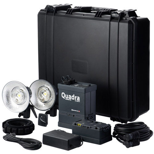 Ranger Quadra AS RX Hybrid Lead Gel Pro Set with Ranger Quadra AS/RX Pack 2 x RQ A Heads, 1x Trans,
