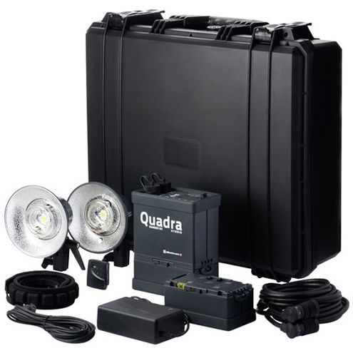 Ranger Quadra AS RX Hybrid Lith-Ion Pro Set with Ranger Quadra AS/RX Pack,2 x RQ A Heads, 1x Trans,