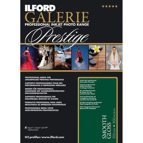 """8.5""""x11"""" Galerie Prestige Smooth Gloss 25 Sheets"""