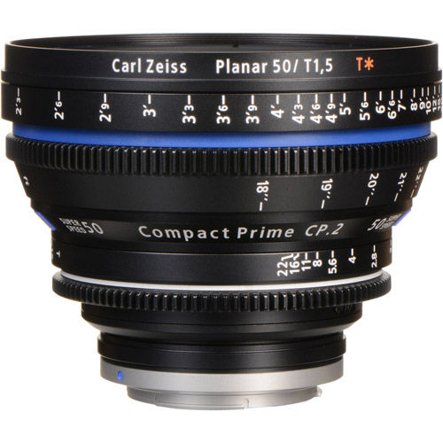 CP.2 T*50mm f/1.5 PL Super Speed Compact Prime CP.2 (meter)