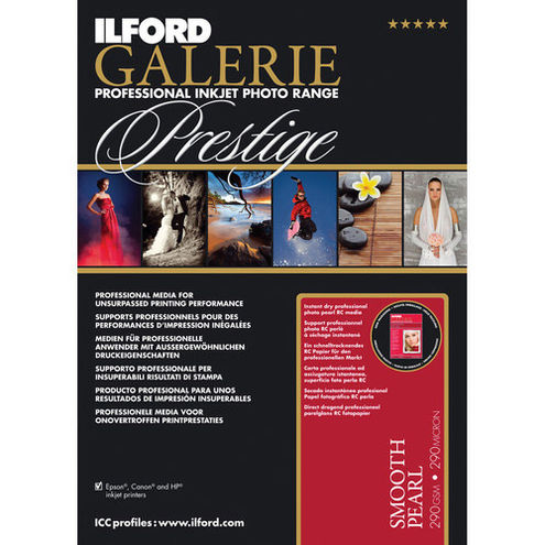 """8.5""""x11"""" Galerie Prestige Smooth Pearl 310gsm 100 Sheets"""