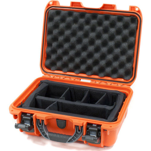 915 Case w/ foam - Orange