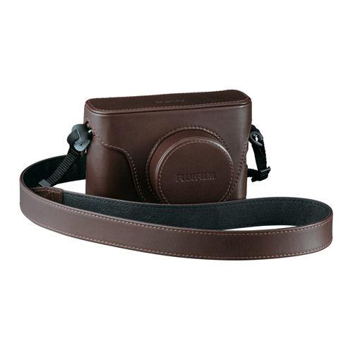 X100 Series Dark Brown Leather Case