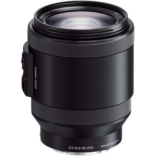 SEL 18-200mm f/3.5-6.3 OSS Power Zoom E-Mount Lens